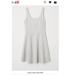 Light Gray Jersey Dress from H&M